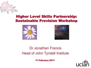 Higher Level Skills Partnership: Sustainable Provision Workshop