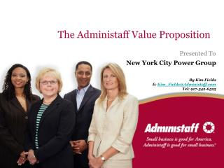 The Administaff Value Proposition