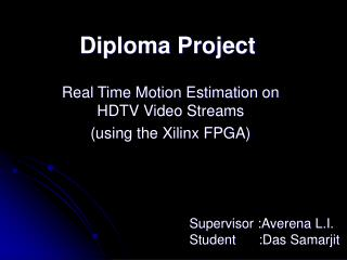Diploma Project