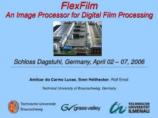 FlexFilm An Image Processor for Digital Film Processing