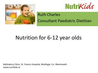 Nutrition for 6-12 year olds