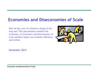 economies of scale essay