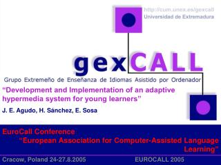 "EuroCall Conference "" European Association for Computer-Assisted Language Learning """