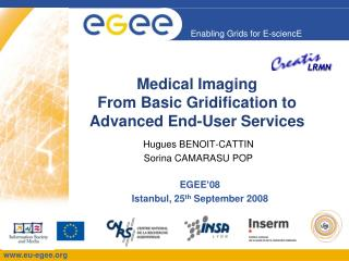 Medical  Imaging From  Basic  Gridification  to Advanced End-User Services