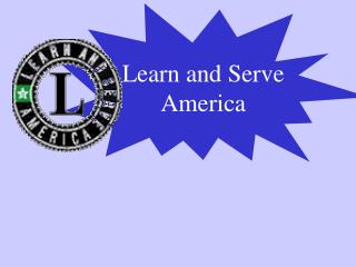 Learn and Serve America