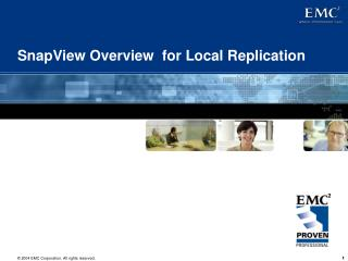 SnapView Overview  for Local Replication