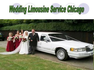 Wedding Limousine Service Chicago