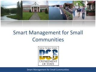 Smart Management for Small Communities