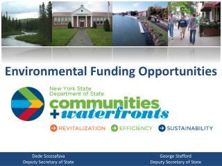Environmental Funding Opportunities