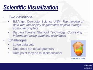 Scientific Visualization