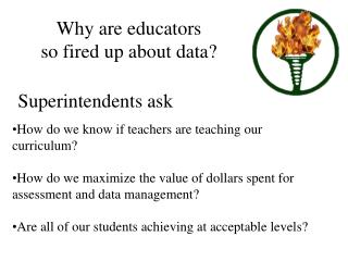Why are educators  so fired up about data?