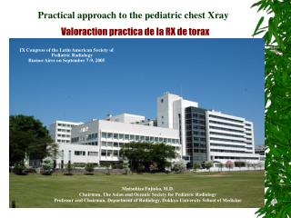 Practical approach to the pediatric chest Xray