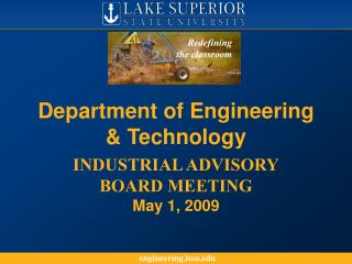 Department of Engineering & Technology
