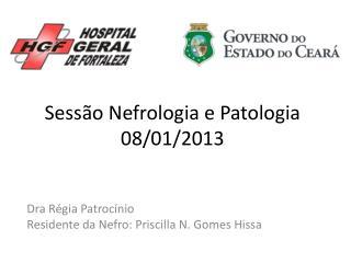 Sessão Nefrologia e Patologia 08/01/2013