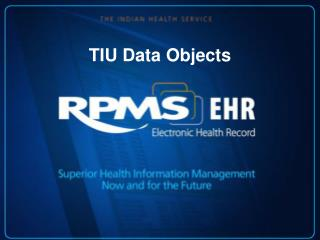 TIU Data Objects