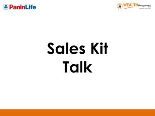 Sales Kit Talk