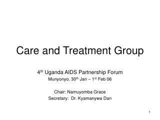Care and Treatment Group