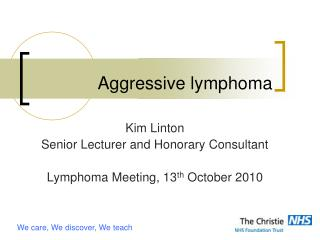 Aggressive lymphoma