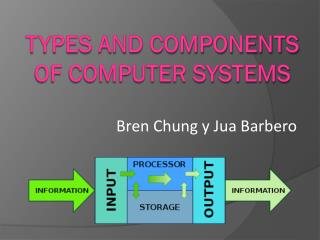 Types and components of computer systems