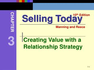 Creating Value with a Relationship Strategy