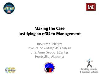 Making the Case Justifying an  eGIS  to Management