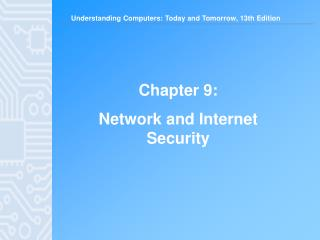 Chapter 9: Network and Internet Security