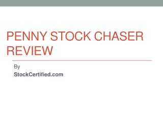 Penny Stock Chaser Review