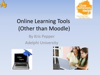 Online Learning Tools   (Other than Moodle)