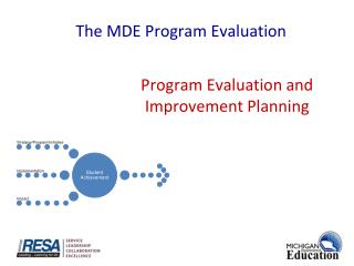 Program Evaluation  and Improvement Planning