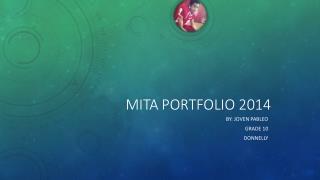 MITa portfolio 2014