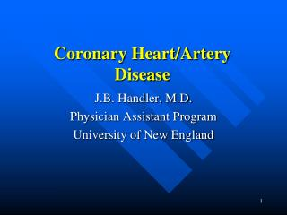 Coronary Heart/Artery Disease