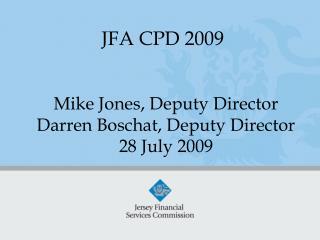 JFA CPD 2009