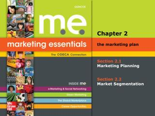 Section 2.1 Marketing Planning