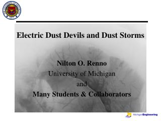 Electric Dust Devils and Dust Storms