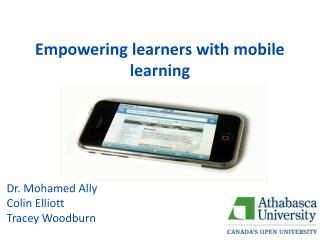 Empowering learners with mobile learning