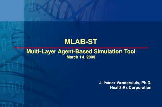 Multi-Layer Agent-Based Simulation Tool March 14, 2008