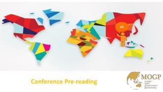 Conference Pre-reading
