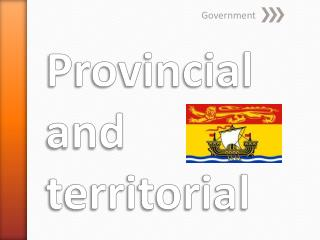 Provincial and territorial