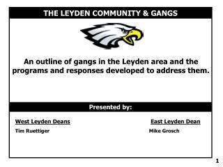 THE LEYDEN COMMUNITY & GANGS