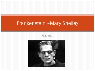 Frankenstein: Mary Shelley s background