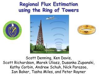 Regional Flux Estimation  using the Ring of Towers