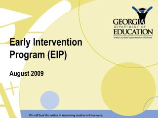 Early Intervention Program EIP
