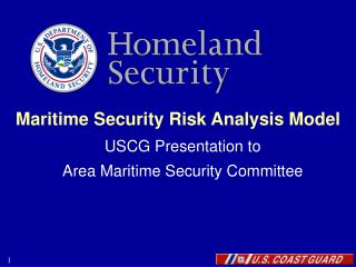 Maritime Security Risk Analysis Model