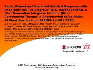 ING112276 Study Design