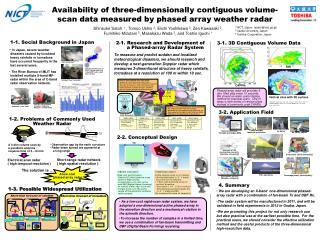 Availability of three-dimensionally contiguous volume-