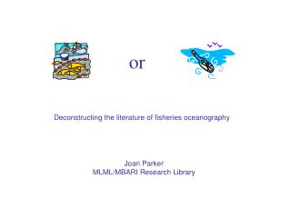 Deconstructing the literature of fisheries oceanography
