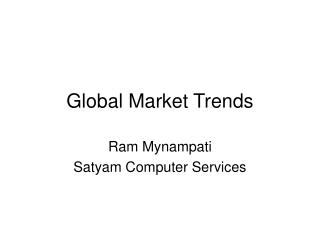 Global Market Trends
