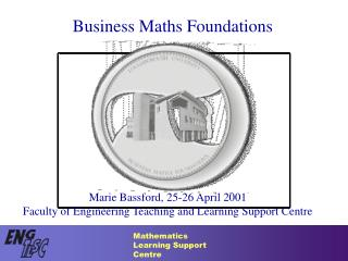 Business Maths Foundations
