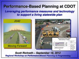 Performance-Based Planning at CDOT