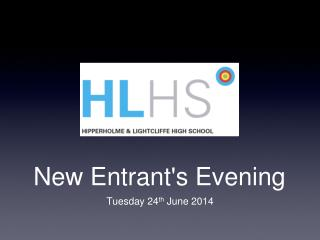New Entrant's Evening